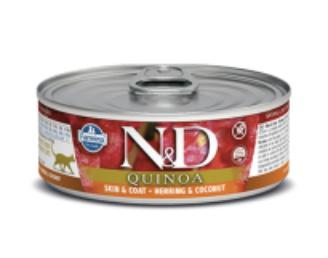 N&D Cat Skin & Coat Herring 2.8oz / 80g