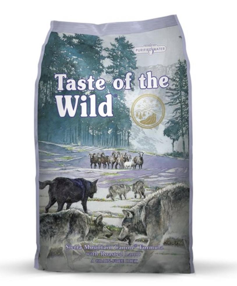Taste Of The Wild Sierra Mountain 5lbs / 2.27kg