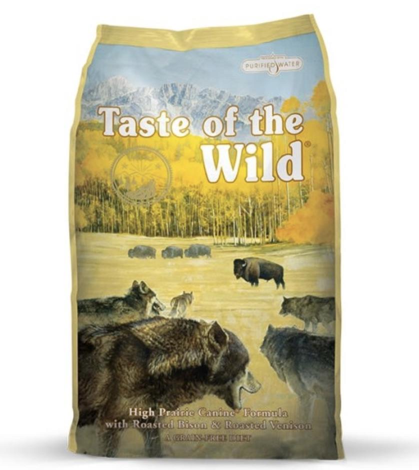 Taste of the Wild High Praire Buffalo 28 lb