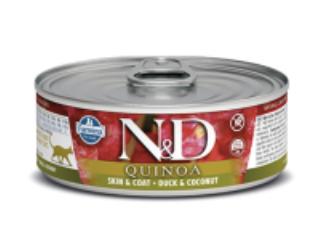 N&D Cat Skin & Coat Duck 2.8oz / 80g