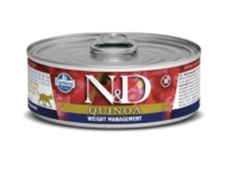 N&D Cat Weight Management Lamb & Quinoa 2.8oz / 80g