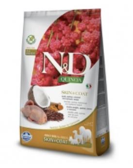 Farmina N&D Dog Quinoa Skin and Coat Quail 7kg
