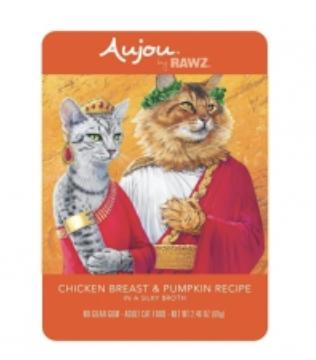 Aujou Cat Chicken Breast & Pumpkin (Shreds)