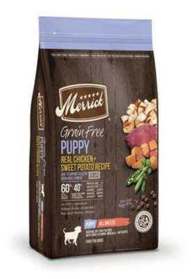 Merrick GF Puppy Chicken & Sweet Potato 4 lb