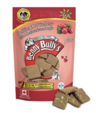Benny Bully's DOG Beef Liver w/ Cranberry 68g