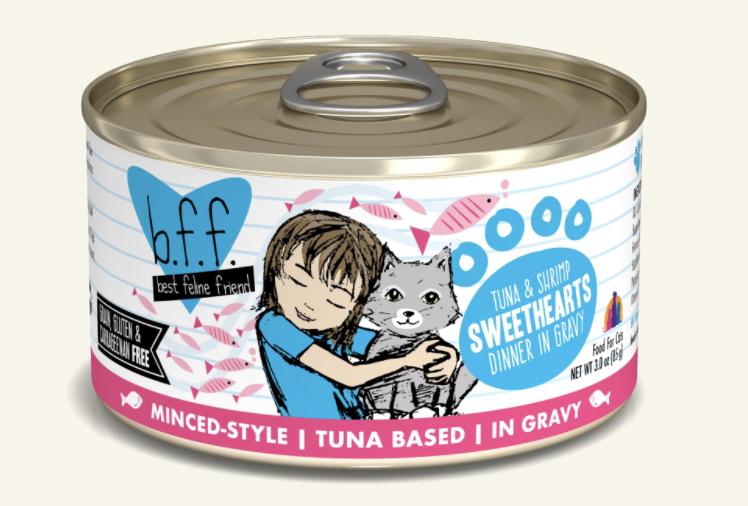 BFF Tuna Tuna and Shrimp Sweethearts 5.5oz