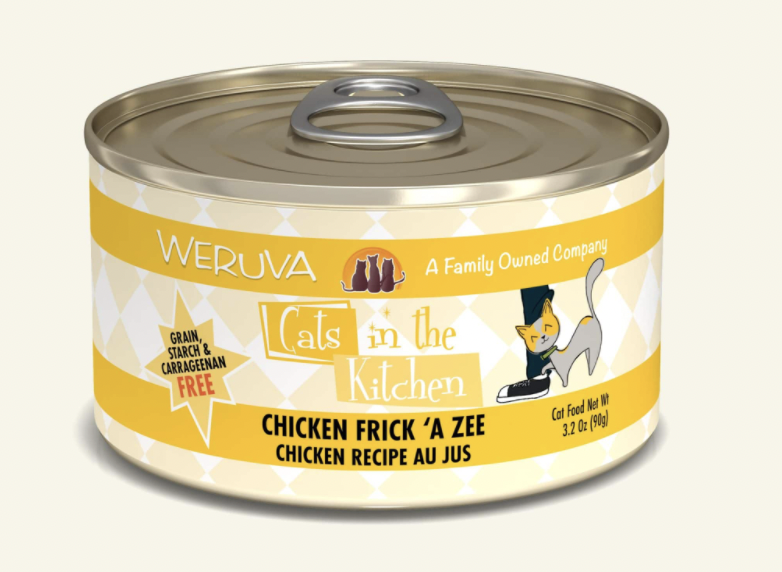 Cats in the Kitchen Chicken Frick-a-Zee 3.2oz