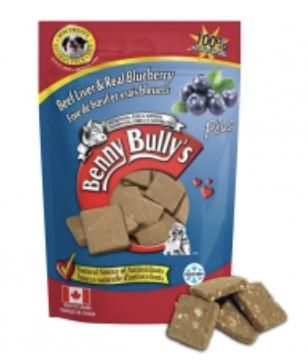 Benny Bullys Liver & Real Blueberries 58 g