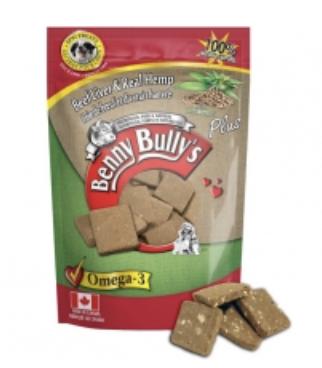 Benny Bully's DOG Beef Liver w/ Hemp 58g