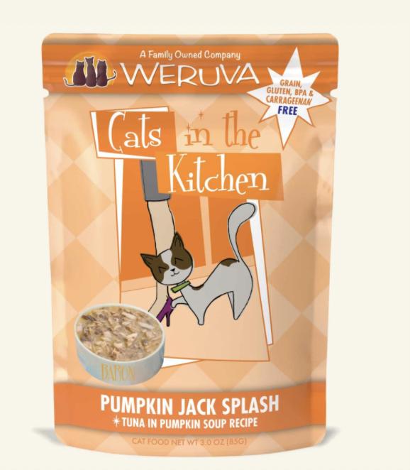 Weruva Cats in the Kitchen Pumpkin Jack Splash 3oz