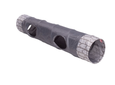 BUDZ Cat Tunnel w/ Two Pop Out Holes 9.5'' X 35''