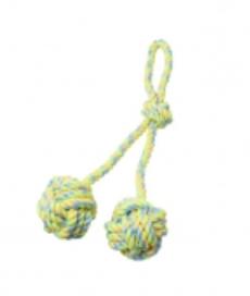 BUDZ Dog Toy Rope Double Monkey Fist 15.5''