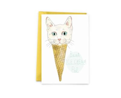 Best Ice Cream Pal Greeting Card