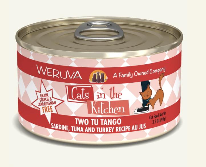 Weruva Cats in the Kitchen Two Tu Tango 6oz