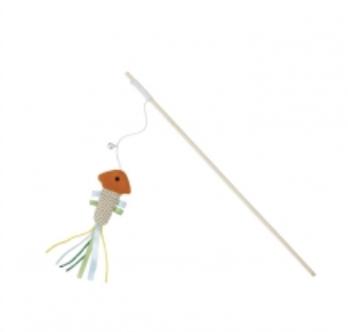 Budz Cat Toy Swing Stick Fish