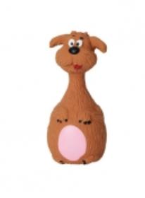 BUDZ Dog Toy Latex Dog Squeaker