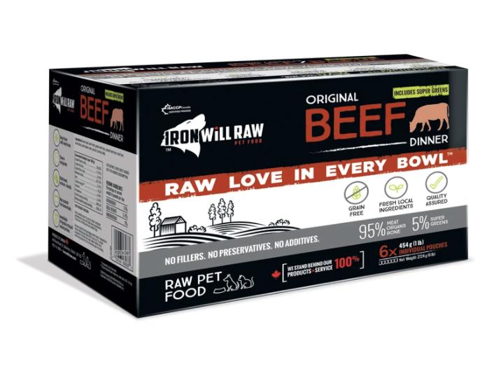 Iron Will Raw Beef Dinner (6 x 1lb)