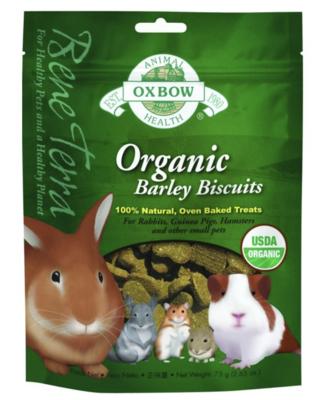 OXBOW Organic Barley Biscuits 75g