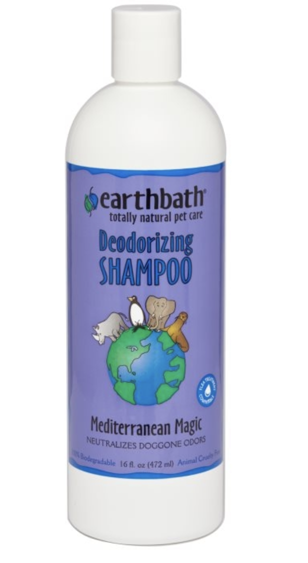 Earthbath Mediterranean Magic Deodorizing Shampoo 473ml