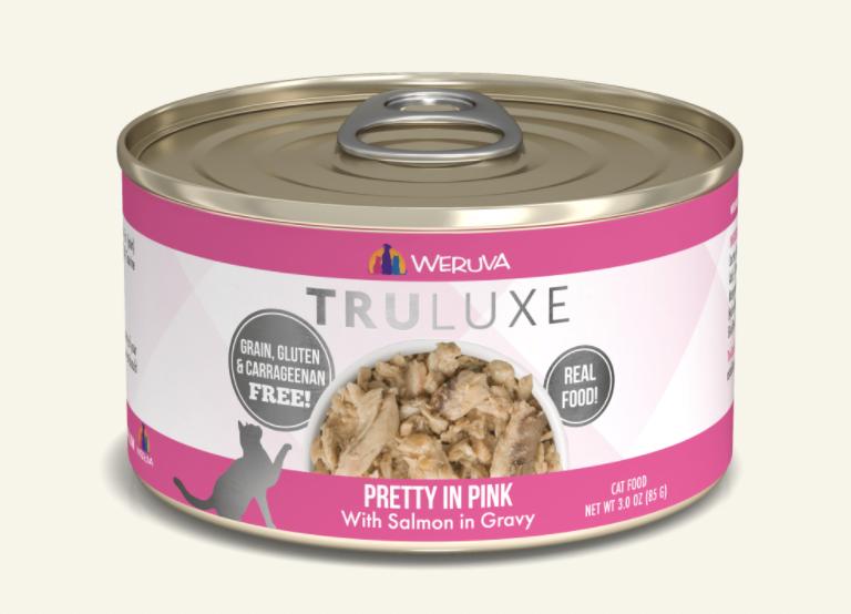 TruLuxe Cat Pretty In Pink Salmon in Gravy 6oz