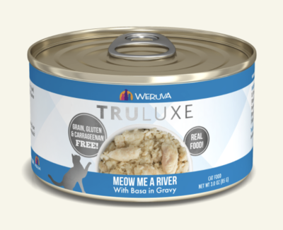 TruLuxe Cat Meow Me a River with Basa in Gravy 6 oz