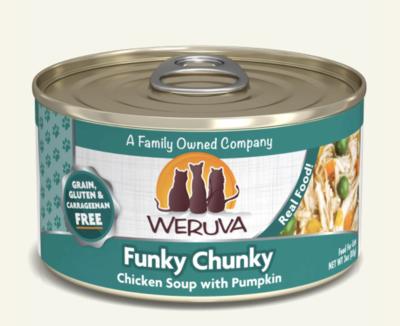 Weruva Cat Funky Chunky Chicken Soup w/ Pumpkin 5.5oz