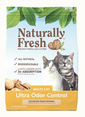 Naturally Fresh Ultra-Odor Control Multi-Cat  Litter 26 lb
