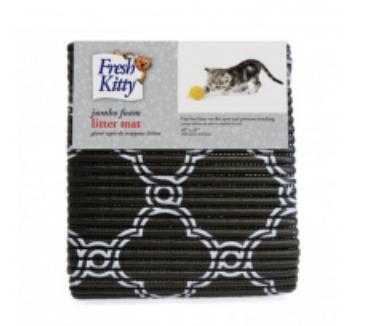 Fresh Kitty Jumbo Foam Litter Mat Quatrefoil
