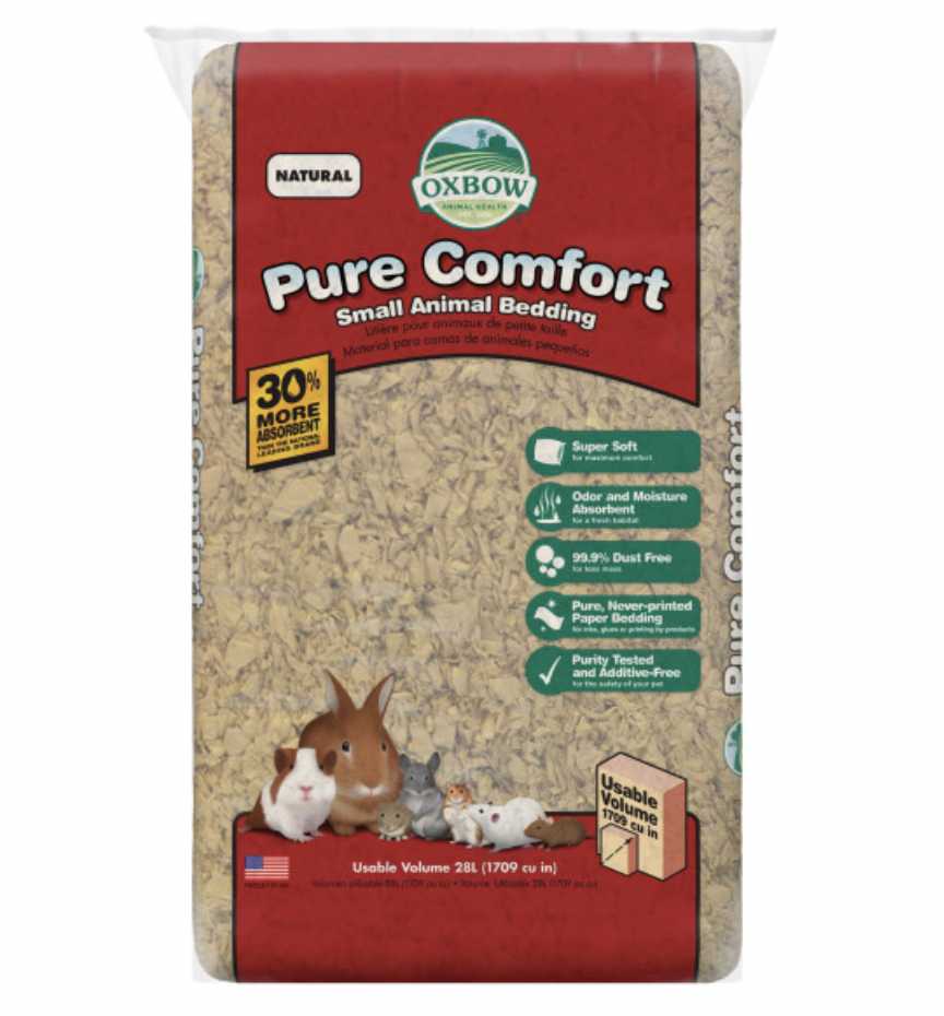 Oxbow Pure Comfort Small Animal Bedding Natural 36L