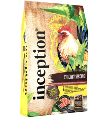 Inception DOG Chicken Formula 4lb