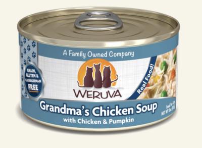 Weruva Cat GF Grandma Chix Soup 3 oz