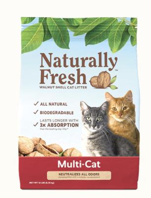 Naturally Fresh Multi-Cat Quick Clumping Litter 26lb