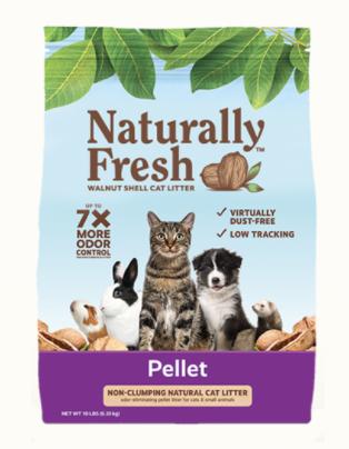 Naturally Fresh Non-Clumping Pellet Litter 10lb / 4.54kg