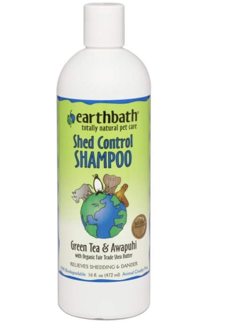 Earthbath Green Tea & Awapuhi Shed Control Shampoo 472ml