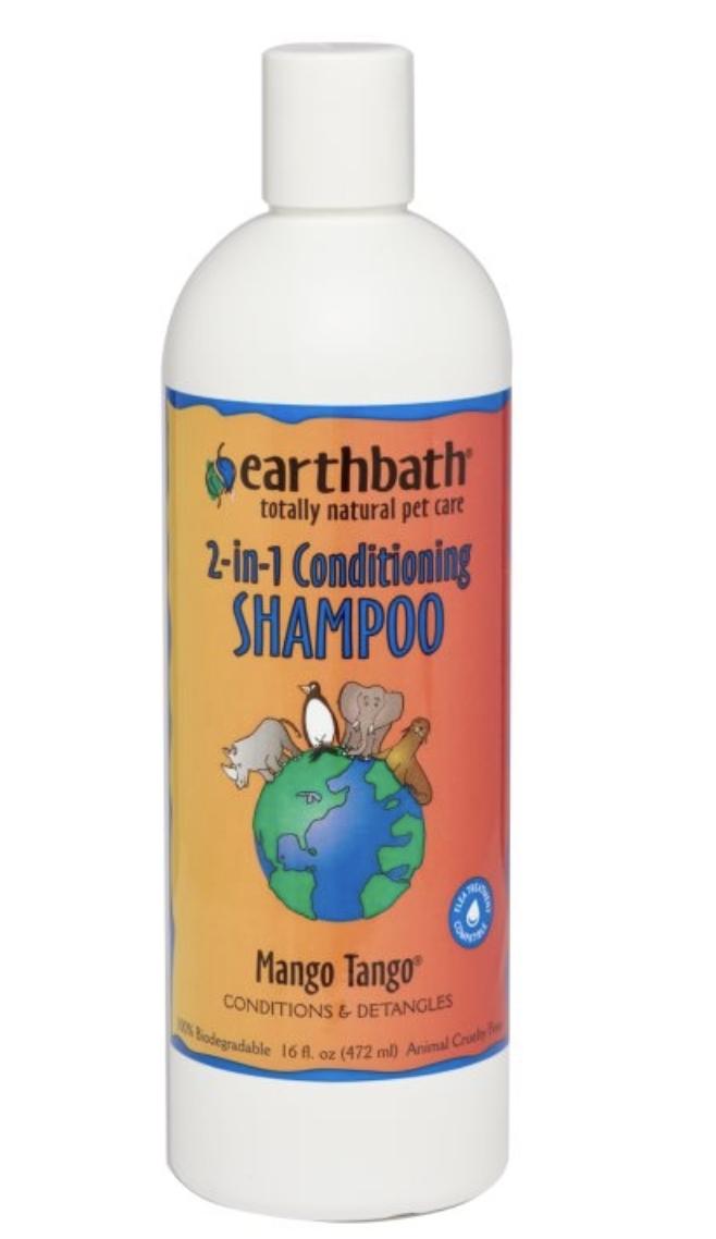 earthbath 2-in-1 Conditioning Shampoo Mango Tango 16 oz