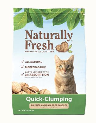 Naturally Fresh Quick Clumping Litter 14lbs