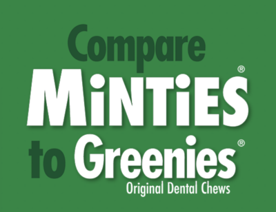 Minties Tiny/Small Dental Bones 16ct