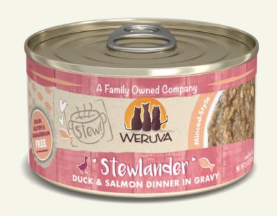 Weruva Cat Stews Stewlander Duck & Salmon 2.8 oz