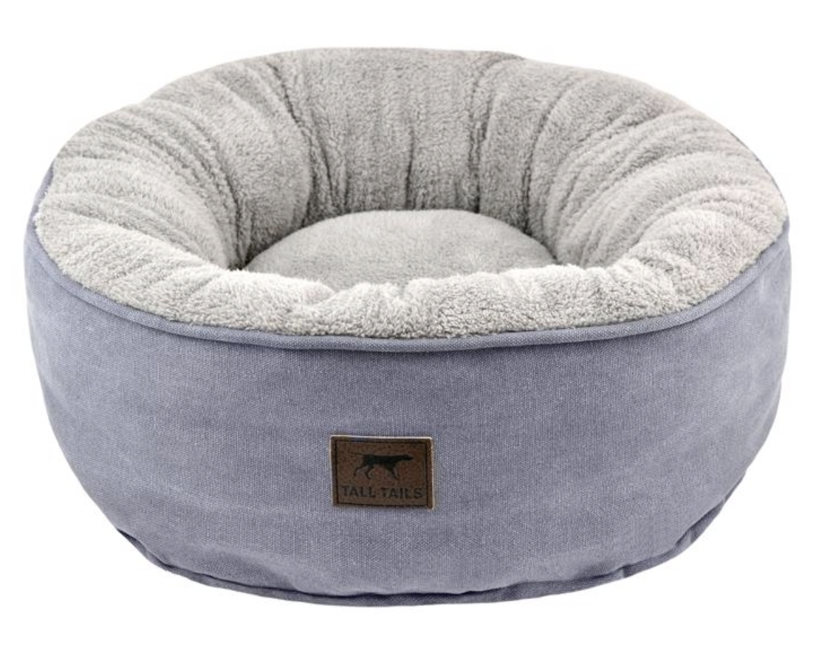 Tall Tails Donut Bed Charcoal Small