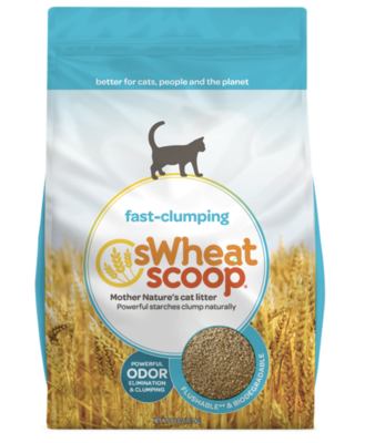 Swheat Scoop Clumping Litter 36 lb