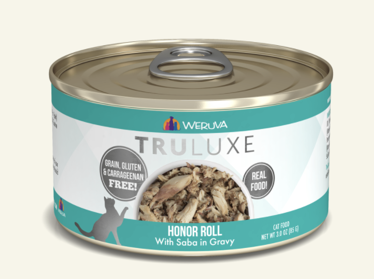 TruLuxe Cat Honor Roll with Saba in Gravy 3 oz