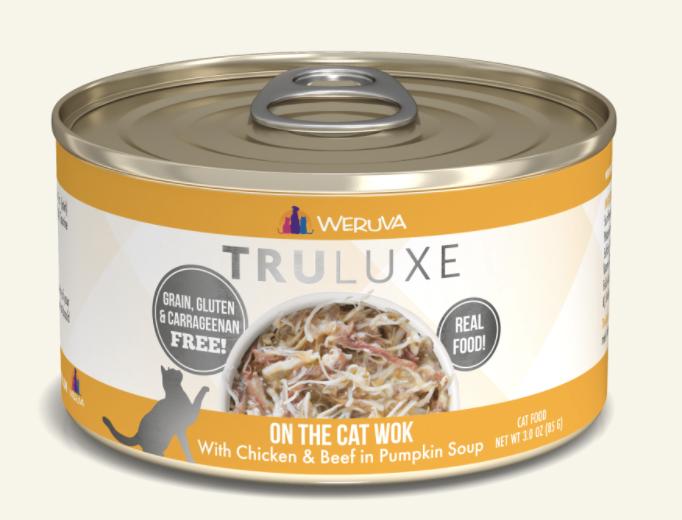 TruLuxe Cat On the Cat Wok Chicken & Beef in Pumpkin 6 oz