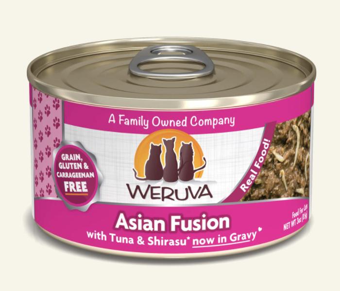 Weruva Cat Asian Fusion Tuna & Shirasu 5.5oz