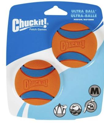 Chuckit! Ultraball 2pk Medium