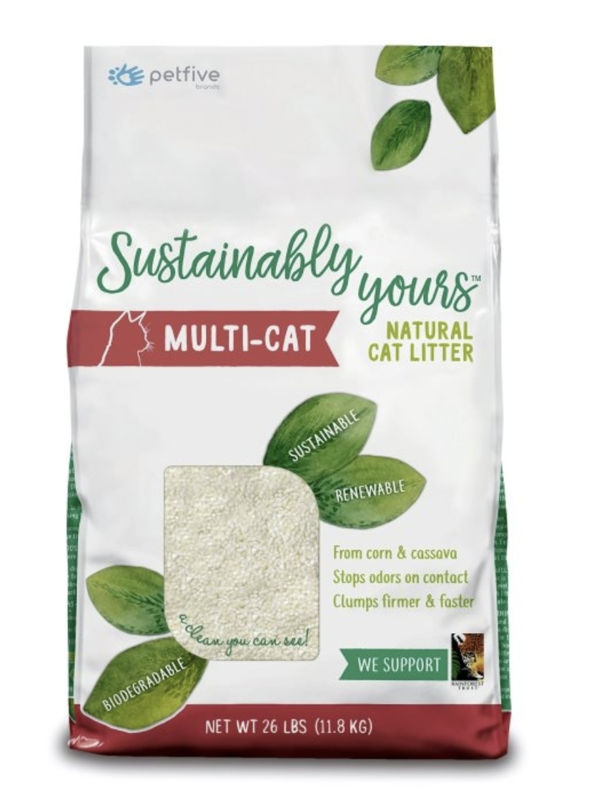 Sustainably Yours Multi-Cat Litter 26lb