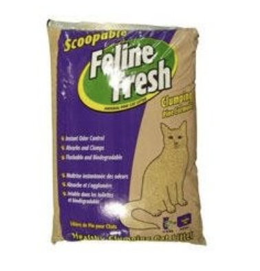 Feline Fresh Clumping Pine Litter 17lb