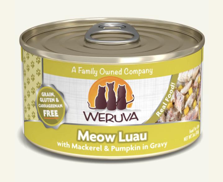 Weruva Meow Luau Mackerel & Pumpkin 5.5oz