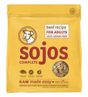 Sojo's Complete Beef 7lb