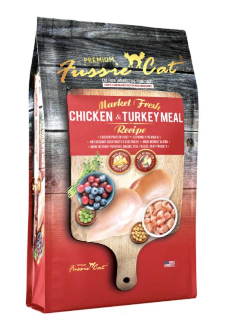 Fussie Cat GF Market Fresh Chicken and Turkey 4lb