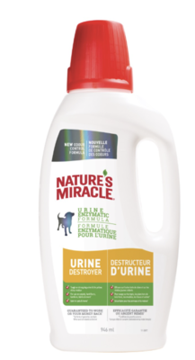 Natures Miracle Dog Urine Destroyer 946 ml
